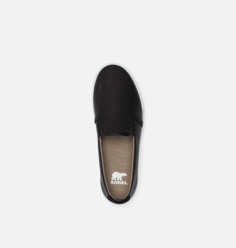 CARIBOU™ SNEAKER SLIP WP   010   8.5 Mens Caribou™ Slip-On Sneaker, Black, top