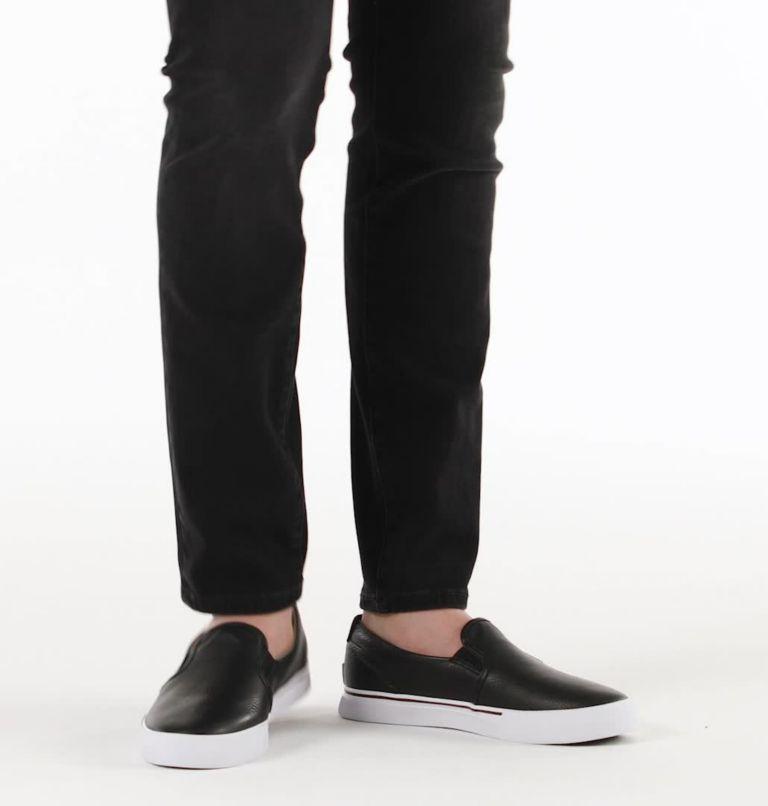 CARIBOU™ SNEAKER SLIP WP | 010 | 11 Mens Caribou™ Slip-On Sneaker, Black, video