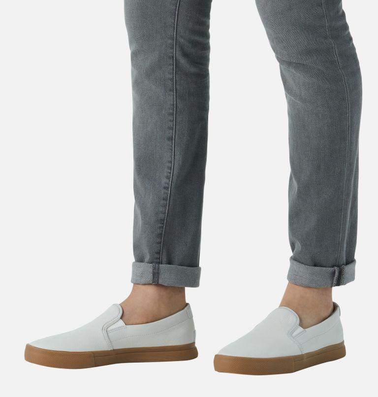 CARIBOU™ SNEAKER SLIP WP | 100 | 7.5 Mens Caribou™ Slip-On Sneaker, White, a9