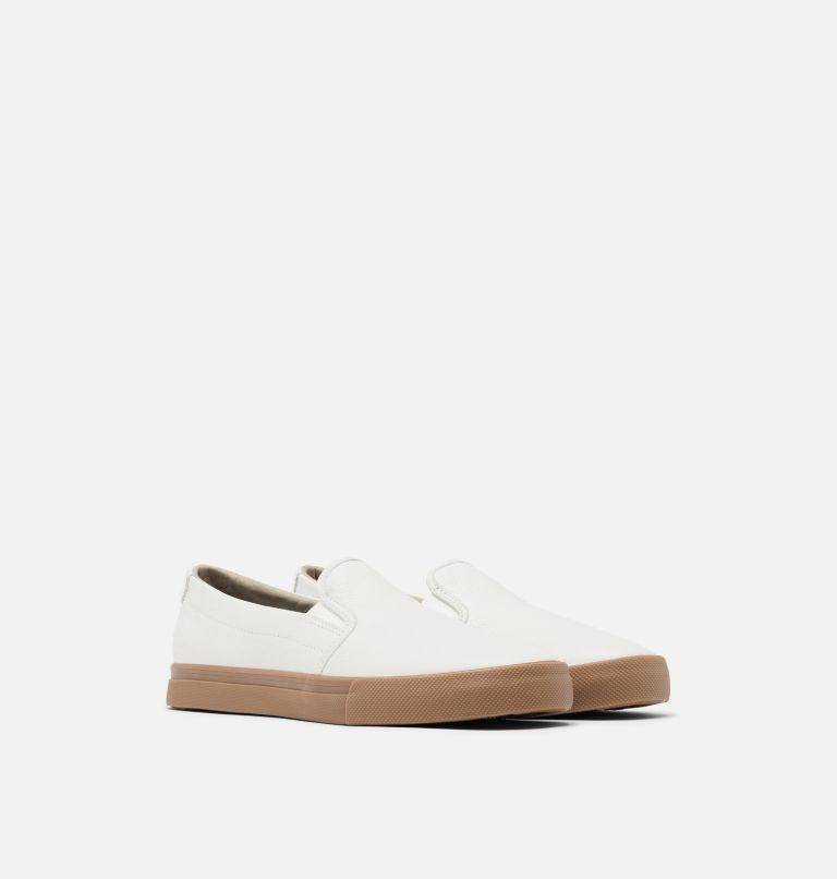 CARIBOU™ SNEAKER SLIP WP | 100 | 7.5 Mens Caribou™ Slip-On Sneaker, White, 3/4 front