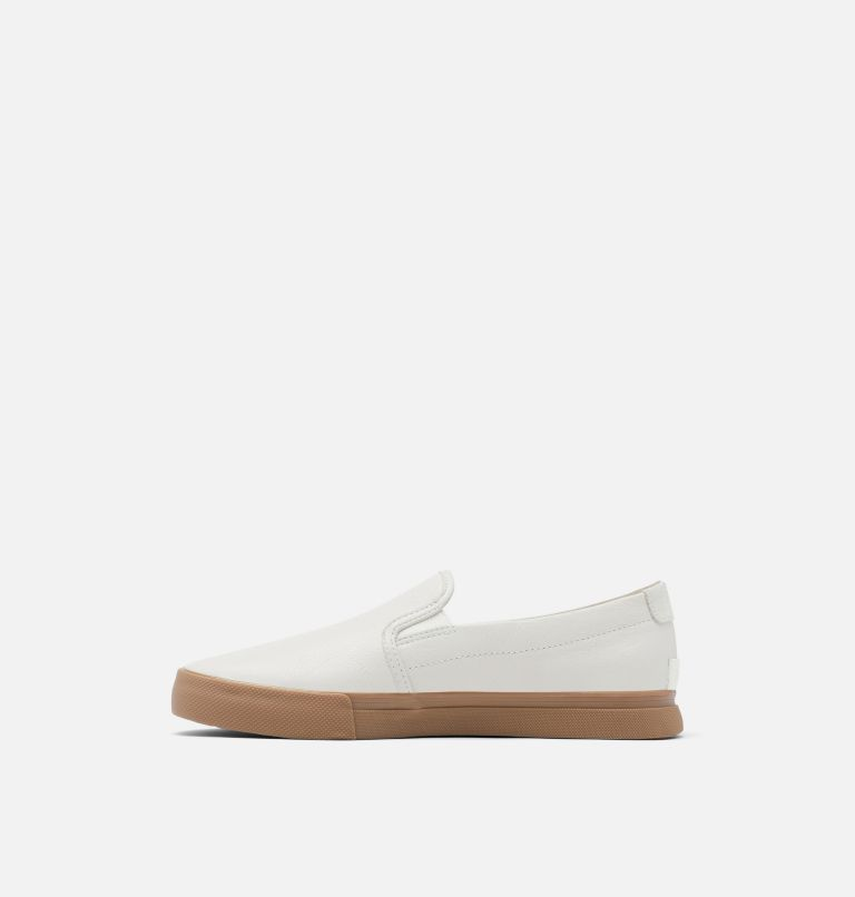 CARIBOU™ SNEAKER SLIP WP | 100 | 15 Mens Caribou™ Slip-On Sneaker WP, White, medial