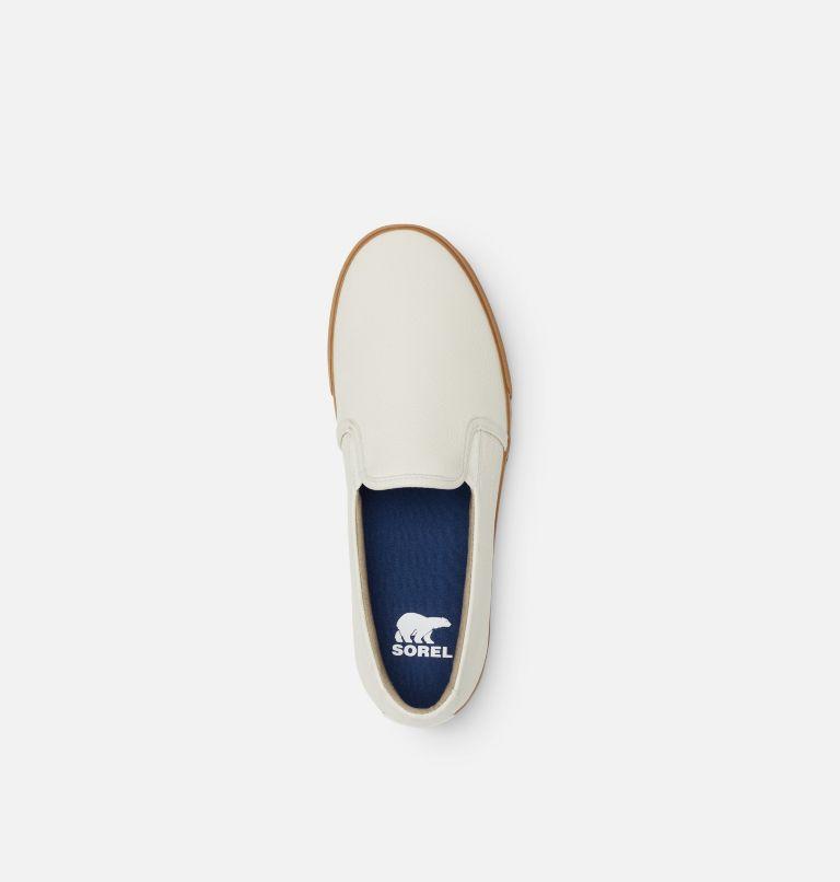 CARIBOU™ SNEAKER SLIP WP | 100 | 7.5 Mens Caribou™ Slip-On Sneaker, White, top