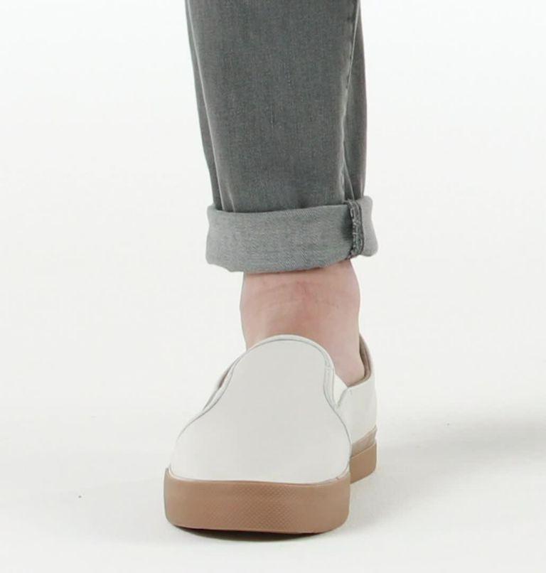 CARIBOU™ SNEAKER SLIP WP | 100 | 7.5 Mens Caribou™ Slip-On Sneaker, White, video