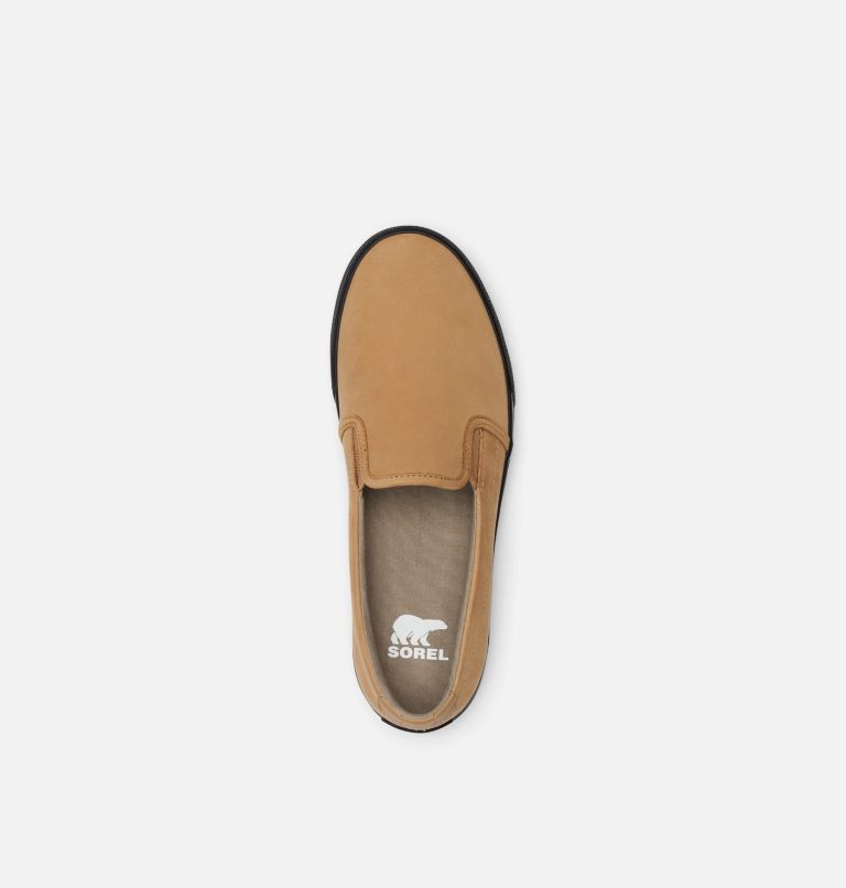 CARIBOU™ SNEAKER SLIP WP | 281 | 9 Mens Caribou™ Slip-On Sneaker, Buff, top