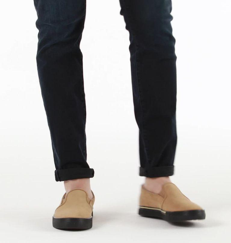 CARIBOU™ SNEAKER SLIP WP | 281 | 9 Mens Caribou™ Slip-On Sneaker, Buff, video