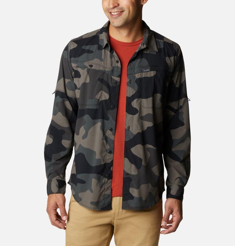 Men's Newton Ridge™ Printed Long Sleeve Shirt Men's Newton Ridge™ Printed Long Sleeve Shirt, front