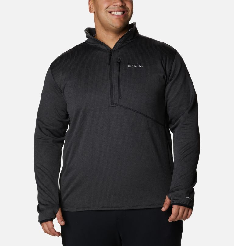 Men's Park View™ Fleece Half Zip Pullover - Big Men's Park View™ Fleece Half Zip Pullover - Big, front