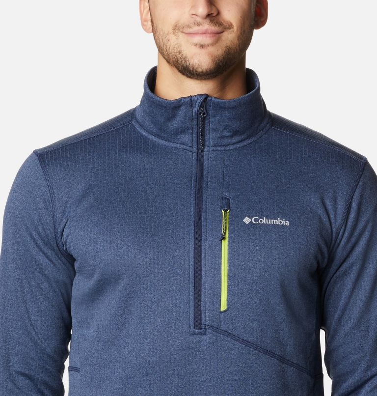 Men's Park View™ Fleece Half Zip Pullover - Tall Men's Park View™ Fleece Half Zip Pullover - Tall, a2