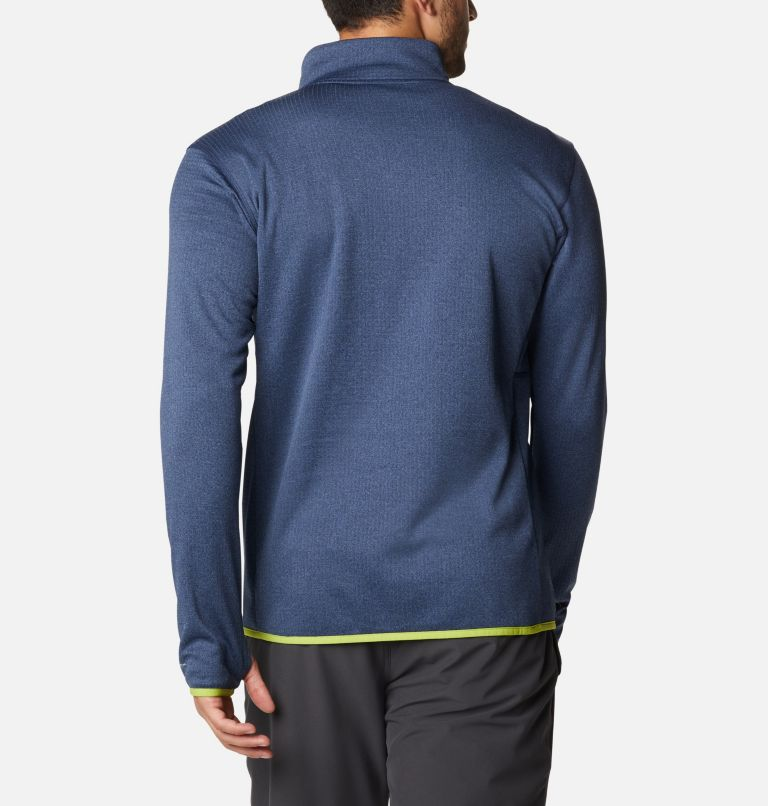 Men's Park View™ Fleece Half Zip Pullover - Tall Men's Park View™ Fleece Half Zip Pullover - Tall, back