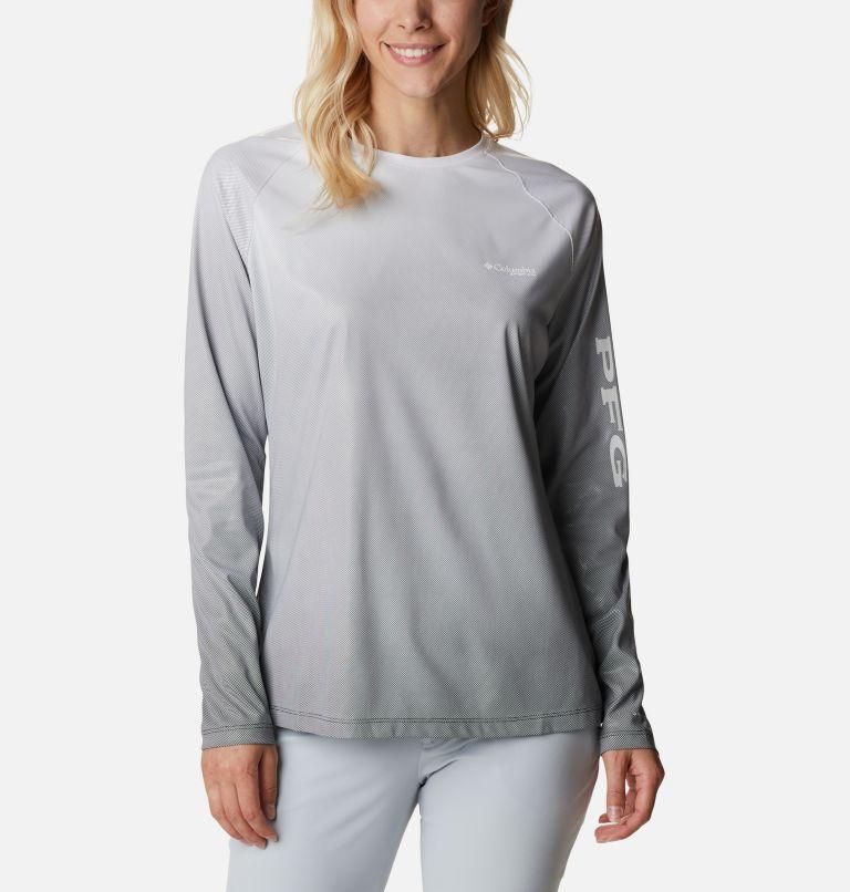 Women's PFG Tidal Deflector™ Printed Long Sleeve Shirt Women's PFG Tidal Deflector™ Printed Long Sleeve Shirt, front