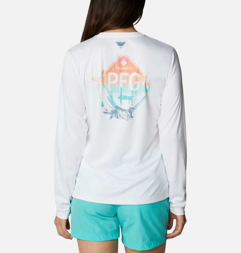 Women's PFG Tidal Tee™ Outdoor Fun Long Sleeve Shirt Women's PFG Tidal Tee™ Outdoor Fun Long Sleeve Shirt, back