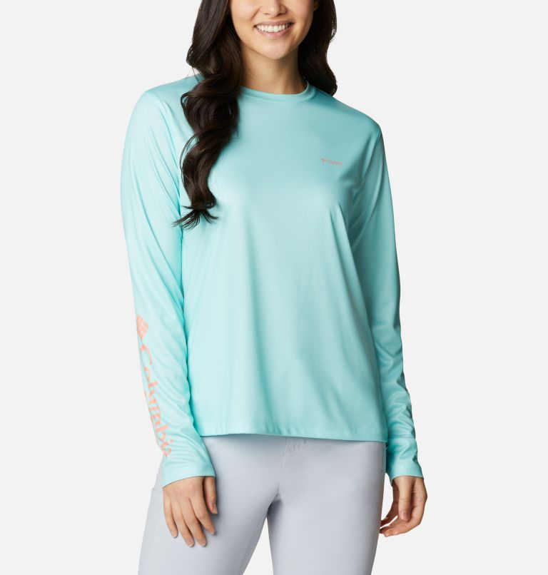 Women's PFG Tidal Tee™ Utility Long Sleeve Shirt Women's PFG Tidal Tee™ Utility Long Sleeve Shirt, front