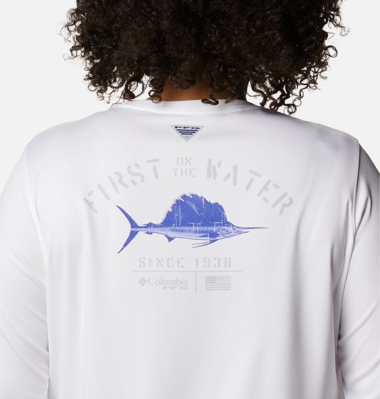 Women's PFG Tidal Tee™ Utility Long Sleeve Shirt - Plus Size Women's PFG Tidal Tee™ Utility Long Sleeve Shirt - Plus Size, a3