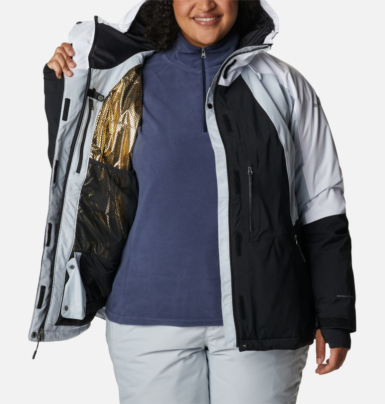 Women's Glacier View™ Insulated Jacket - Plus Size Women's Glacier View™ Insulated Jacket - Plus Size, a3
