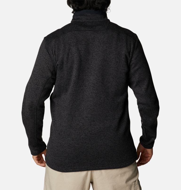 Manteau à fermeture éclair Sweater Weather™ pour homme - Tailles fortes Manteau à fermeture éclair Sweater Weather™ pour homme - Tailles fortes, back