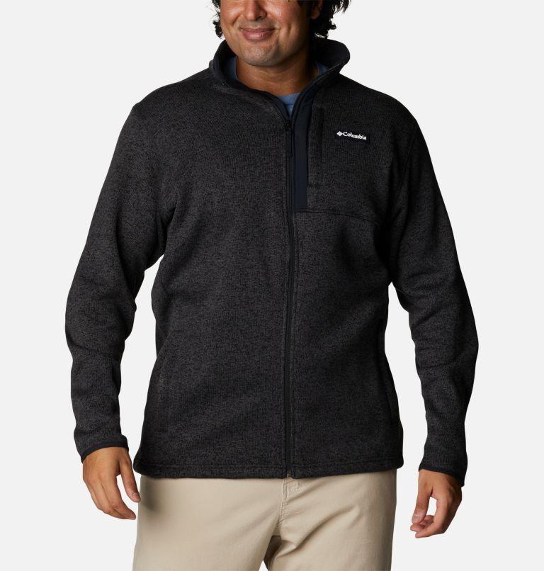 Manteau à fermeture éclair Sweater Weather™ pour homme - Tailles fortes Manteau à fermeture éclair Sweater Weather™ pour homme - Tailles fortes, front
