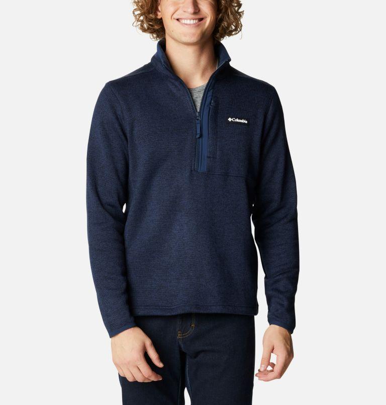 Men's Sweater Weather™ Half Zip Pullover Men's Sweater Weather™ Half Zip Pullover, front