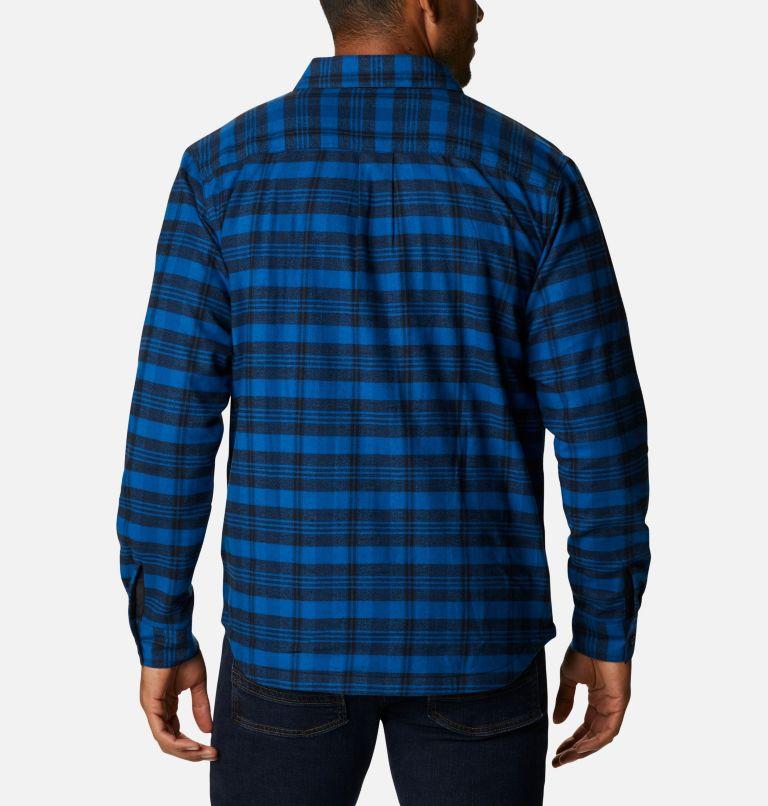 Men's Cornell Woods™ Fleece Lined Flannel Shirt Men's Cornell Woods™ Fleece Lined Flannel Shirt, back