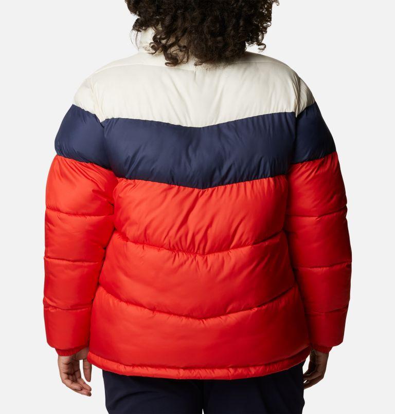 Women's Puffect™ Color Blocked Jacket - Plus Size Women's Puffect™ Color Blocked Jacket - Plus Size, back