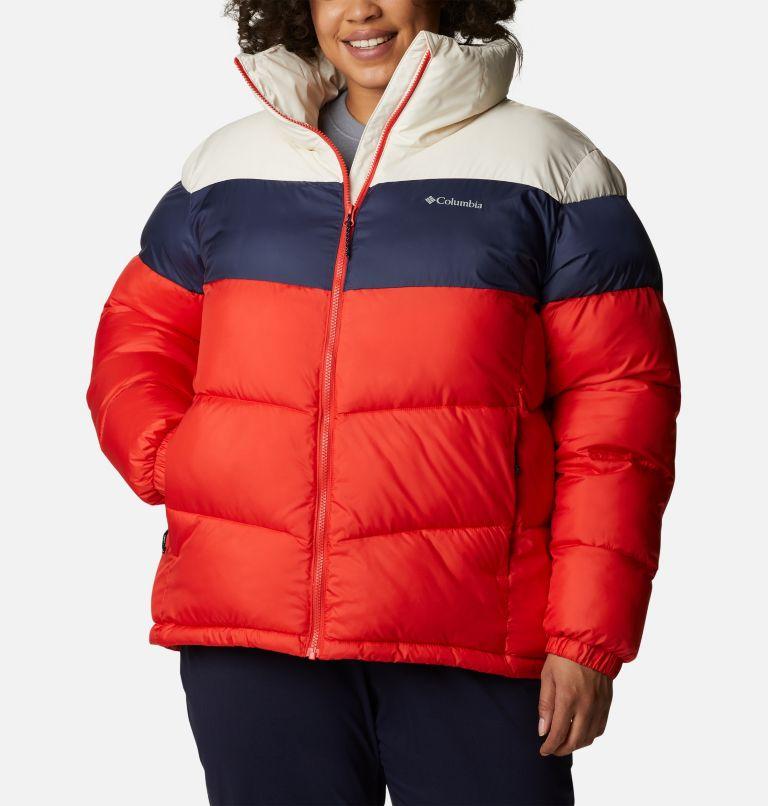Women's Puffect™ Color Blocked Jacket - Plus Size Women's Puffect™ Color Blocked Jacket - Plus Size, front