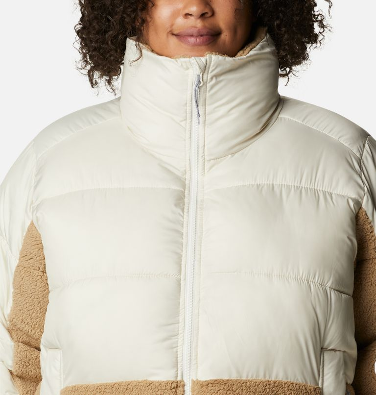 Women's Leadbetter Point™ Sherpa Hybrid Jacket - Plus Size Women's Leadbetter Point™ Sherpa Hybrid Jacket - Plus Size, a2