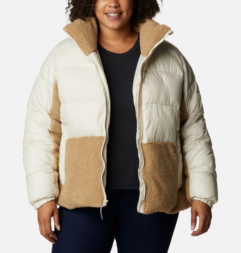 Women's Leadbetter Point™ Sherpa Hybrid Jacket - Plus Size Women's Leadbetter Point™ Sherpa Hybrid Jacket - Plus Size, a5