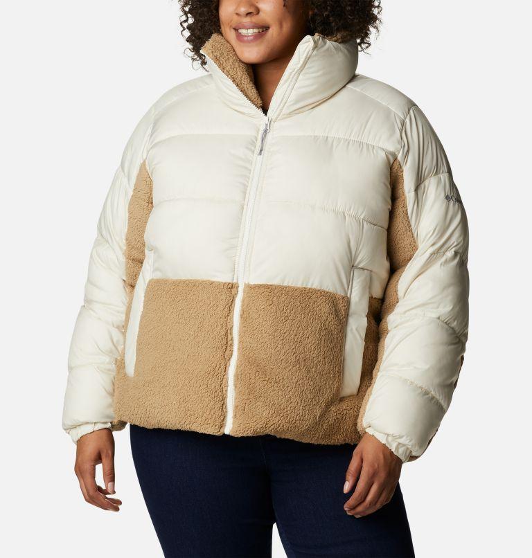 Women's Leadbetter Point™ Sherpa Hybrid Jacket - Plus Size Women's Leadbetter Point™ Sherpa Hybrid Jacket - Plus Size, front