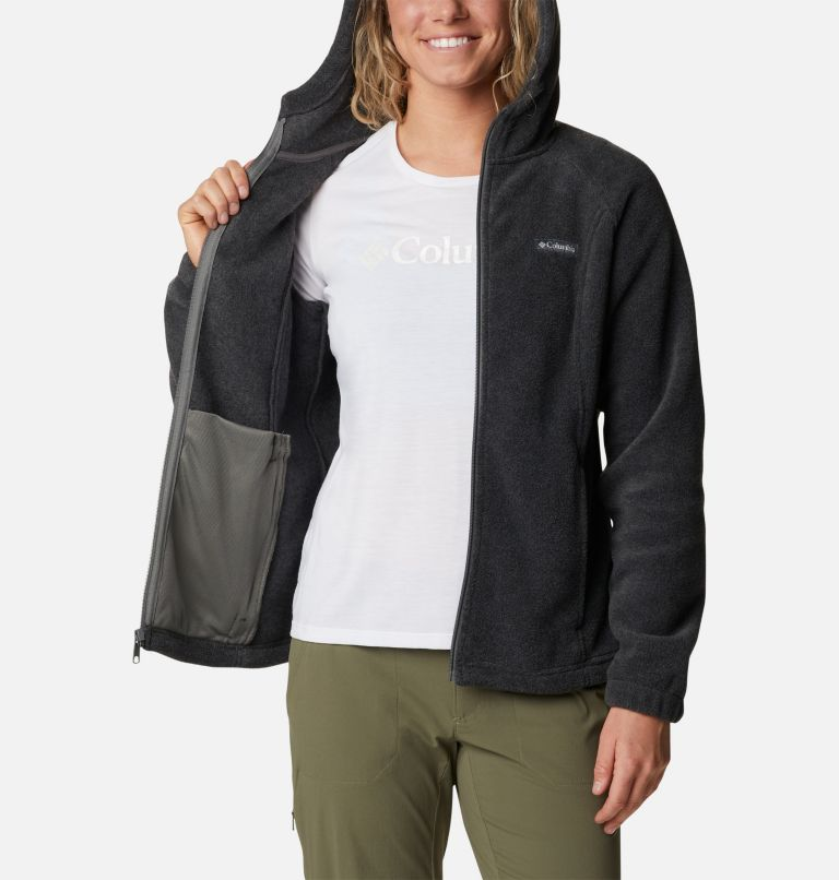 Benton Springs™ Full Zip Hoodie | 030 | XS Women's Benton Springs™ Full Zip Hoodie, Charcoal Heather, a3
