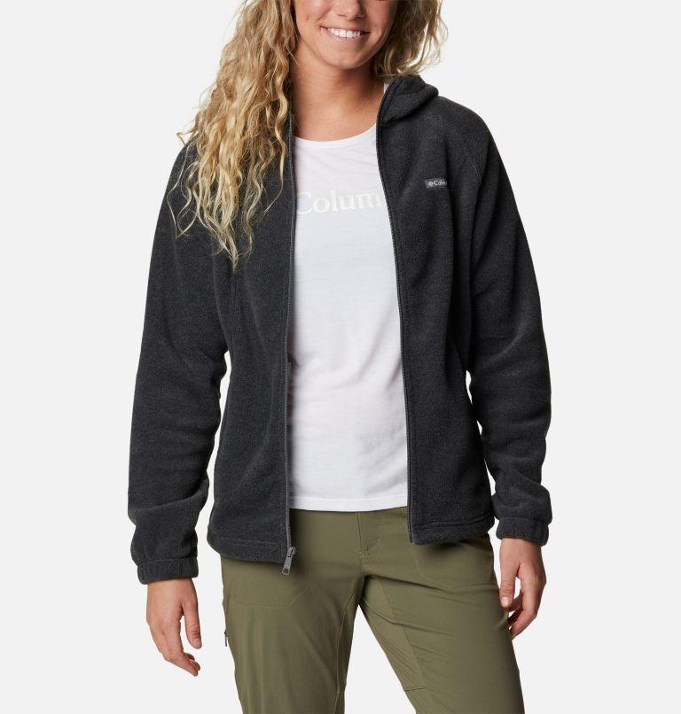 Benton Springs™ Full Zip Hoodie | 030 | XS Women's Benton Springs™ Full Zip Hoodie, Charcoal Heather, a5