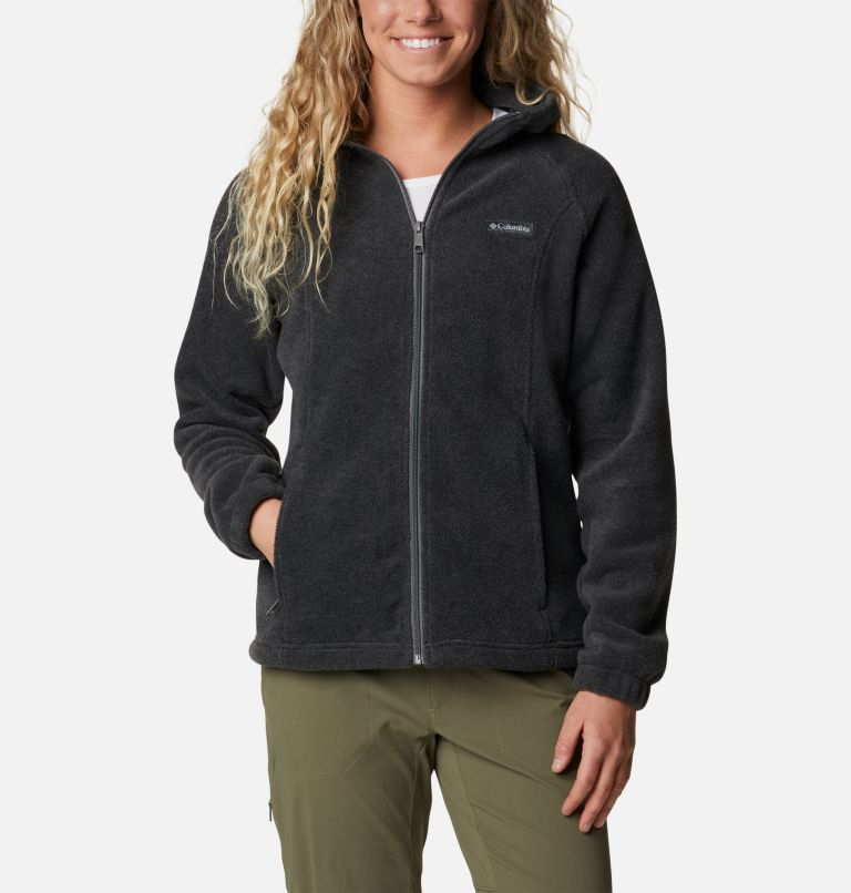 Benton Springs™ Full Zip Hoodie | 030 | XS Women's Benton Springs™ Full Zip Hoodie, Charcoal Heather, front