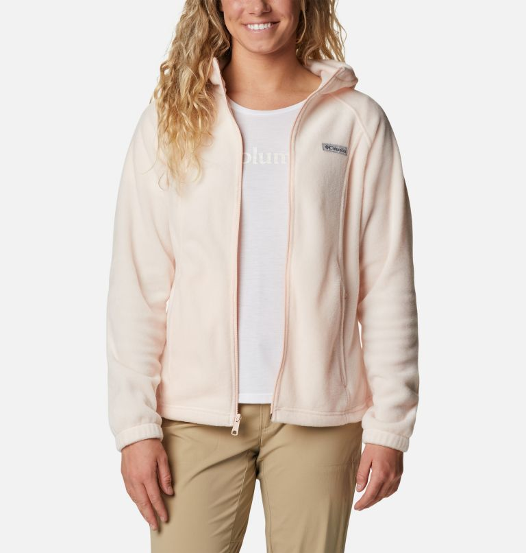Benton Springs™ Full Zip Hoodie | 886 | XS Women's Benton Springs™ Full Zip Hoodie, Peach Quartz, a5