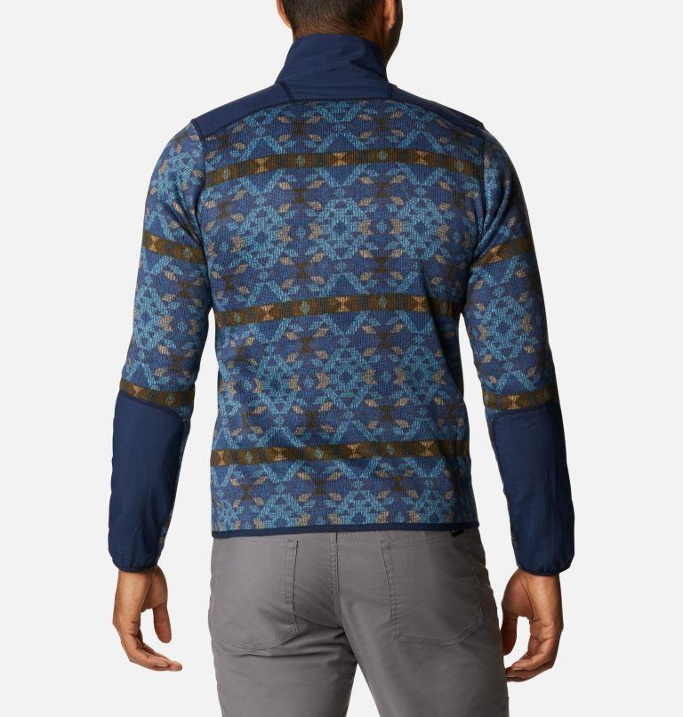 Men's Sweater Weather™ Printed Half Zip Pullover Men's Sweater Weather™ Printed Half Zip Pullover, back