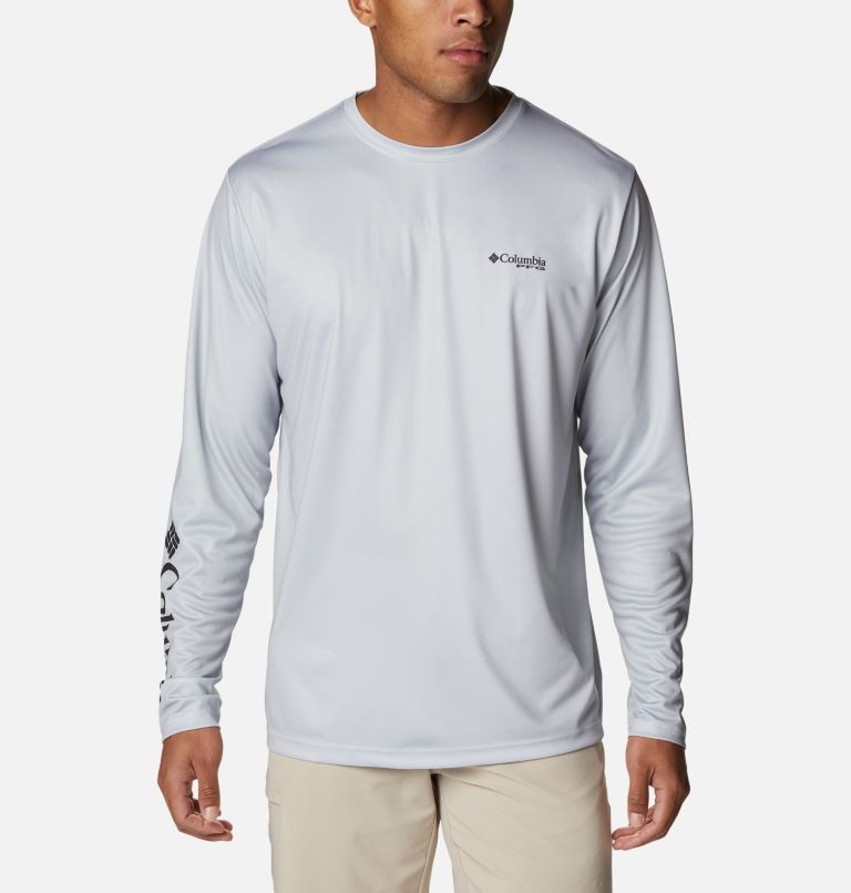 Men's PFG Terminal Tackle™ Vintage Sign Long Sleeve Shirt Men's PFG Terminal Tackle™ Vintage Sign Long Sleeve Shirt, back