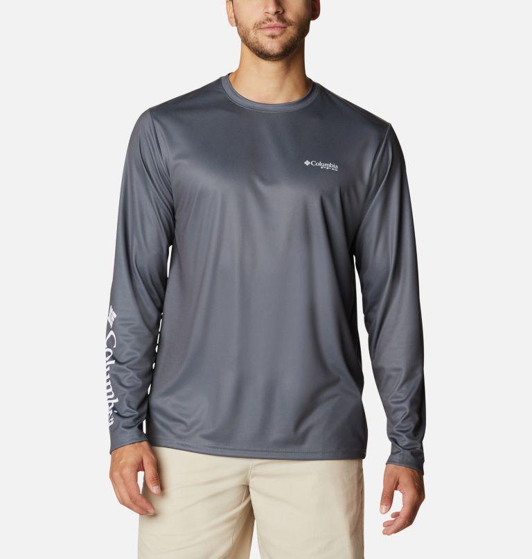 Men's PFG Terminal Tackle™ Utility Graphic Long Sleeve Shirt Men's PFG Terminal Tackle™ Utility Graphic Long Sleeve Shirt, back