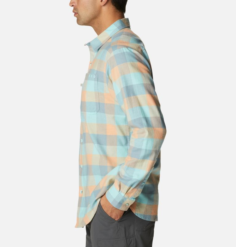 Men's PFG Slack Tide™ Flannel Long Sleeve Shirt Men's PFG Slack Tide™ Flannel Long Sleeve Shirt, a1
