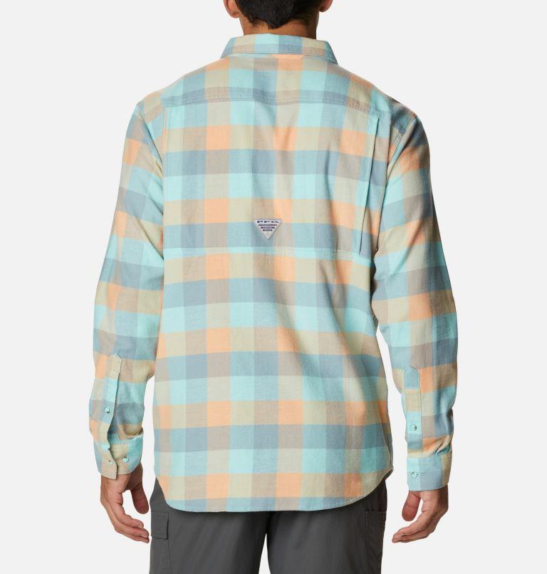 Men's PFG Slack Tide™ Flannel Long Sleeve Shirt Men's PFG Slack Tide™ Flannel Long Sleeve Shirt, back