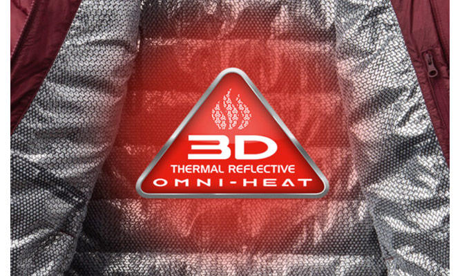 Omni-Heat 3D thermal reflective.