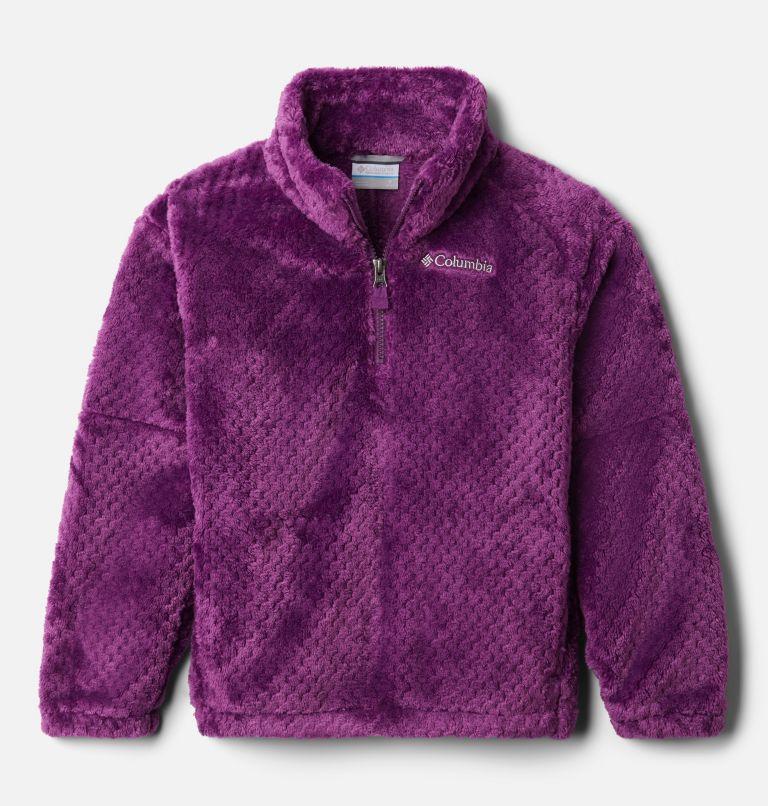 Chandail en laine polaire Sherpa avec demi-fermeture éclair Fire Side™ II pour fille Chandail en laine polaire Sherpa avec demi-fermeture éclair Fire Side™ II pour fille, front