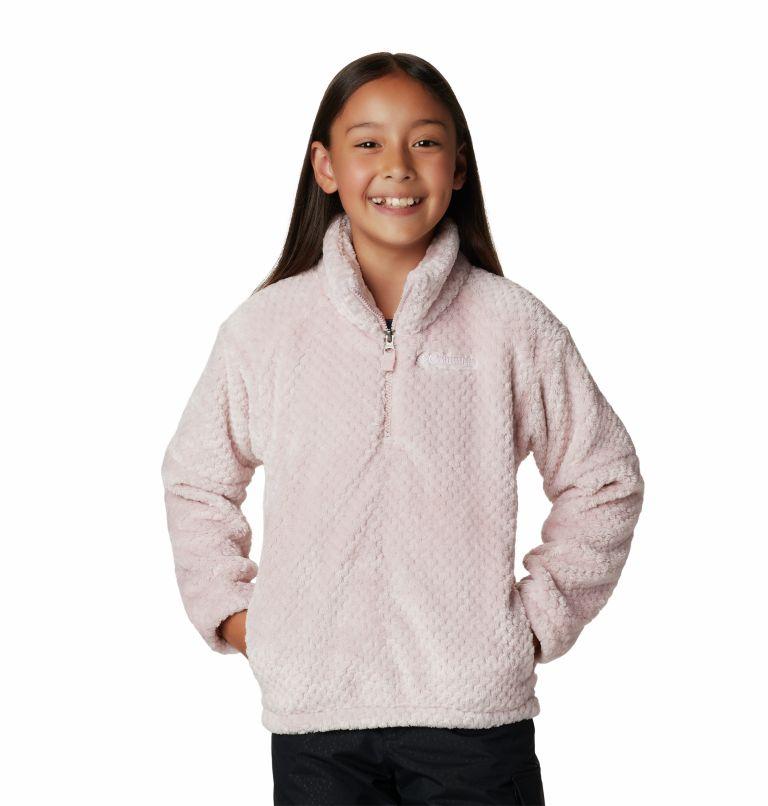 Girls' Fire Side™ II Half-Zip Sherpa Fleece Girls' Fire Side™ II Half-Zip Sherpa Fleece, front