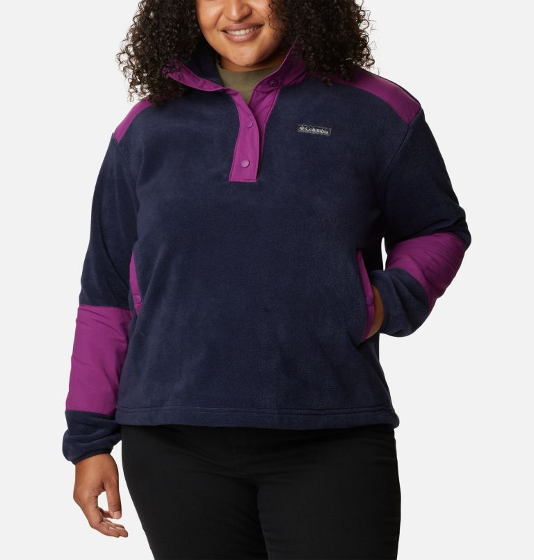 Women's Benton Springs™ Crop Pullover - Plus Size Women's Benton Springs™ Crop Pullover - Plus Size, front