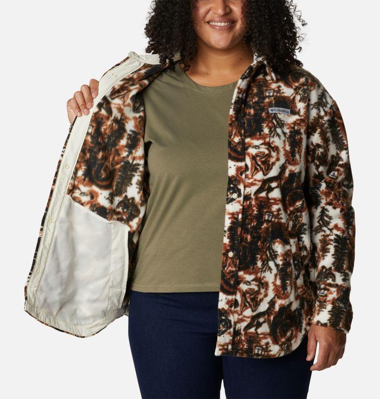 Women's Benton Springs™ Shirt Jacket - Plus Size Women's Benton Springs™ Shirt Jacket - Plus Size, a3
