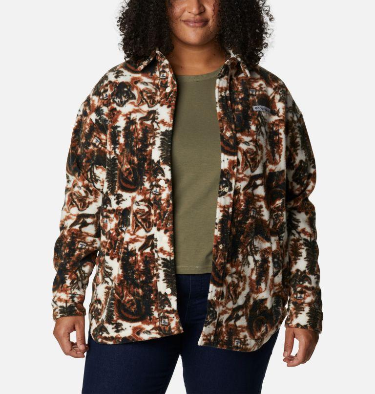 Women's Benton Springs™ Shirt Jacket - Plus Size Women's Benton Springs™ Shirt Jacket - Plus Size, a4