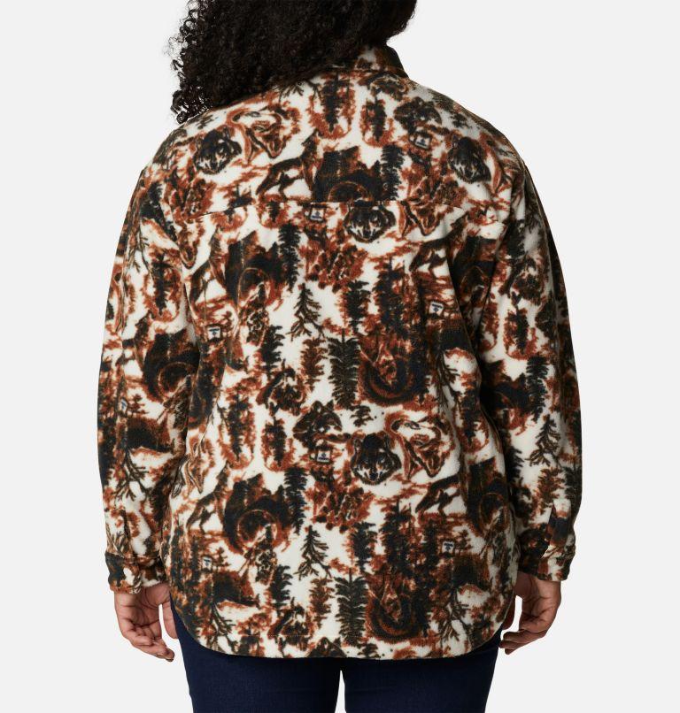 Women's Benton Springs™ Shirt Jacket - Plus Size Women's Benton Springs™ Shirt Jacket - Plus Size, back