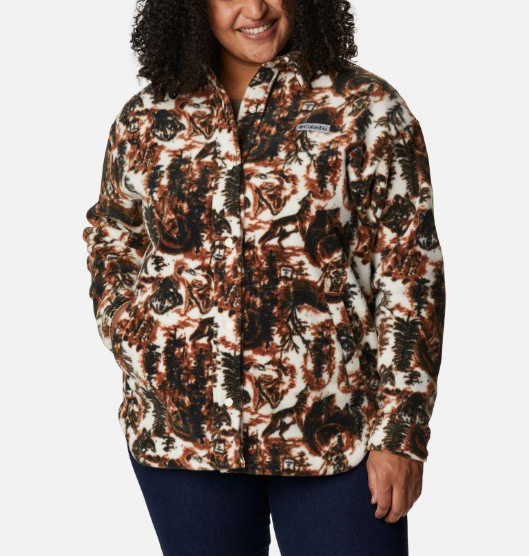 Women's Benton Springs™ Shirt Jacket - Plus Size Women's Benton Springs™ Shirt Jacket - Plus Size, front