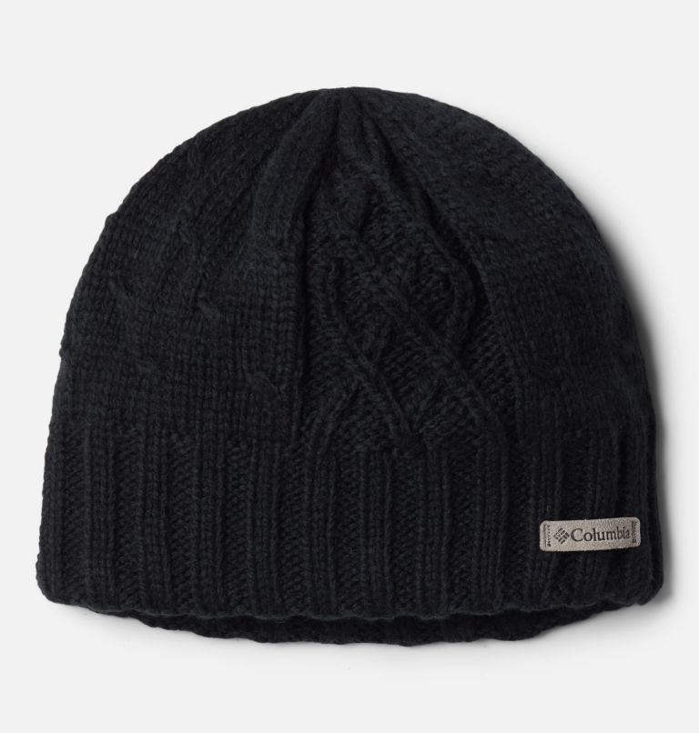 Youth Cabled Cutie™ II Beanie   010   O/S Girls' Cabled Cutie™ II Beanie, Black, front