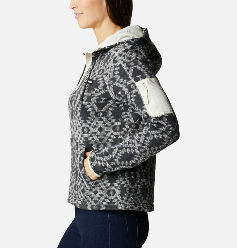 Women's Sweater Weather™ Fleece Hooded Pullover Women's Sweater Weather™ Fleece Hooded Pullover, a1
