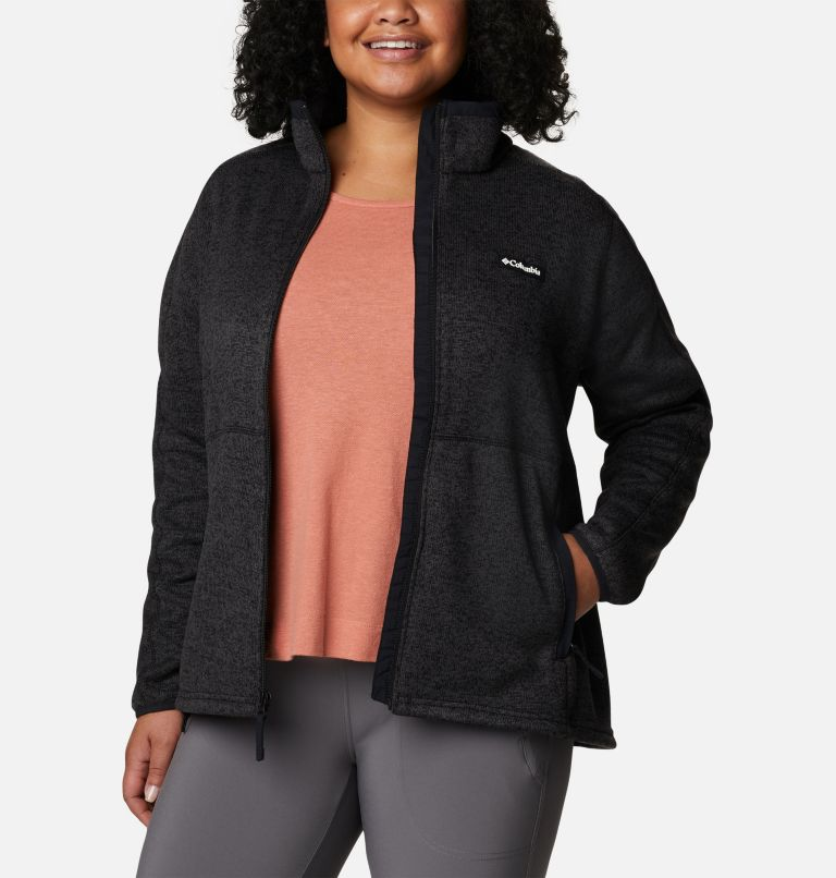 Women's Sweater Weather™ Full Zip - Plus Size Women's Sweater Weather™ Full Zip - Plus Size, a5