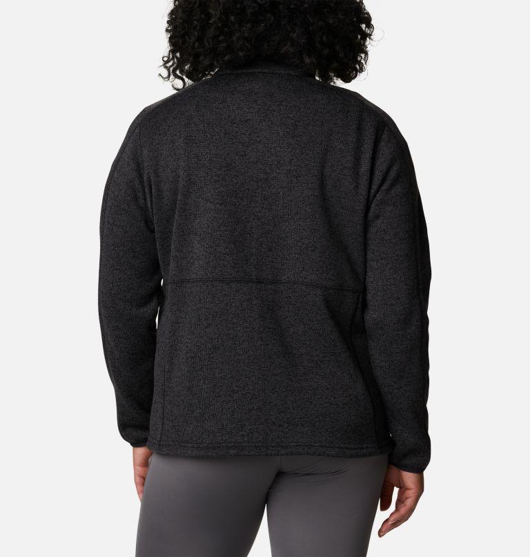 Women's Sweater Weather™ Full Zip - Plus Size Women's Sweater Weather™ Full Zip - Plus Size, back