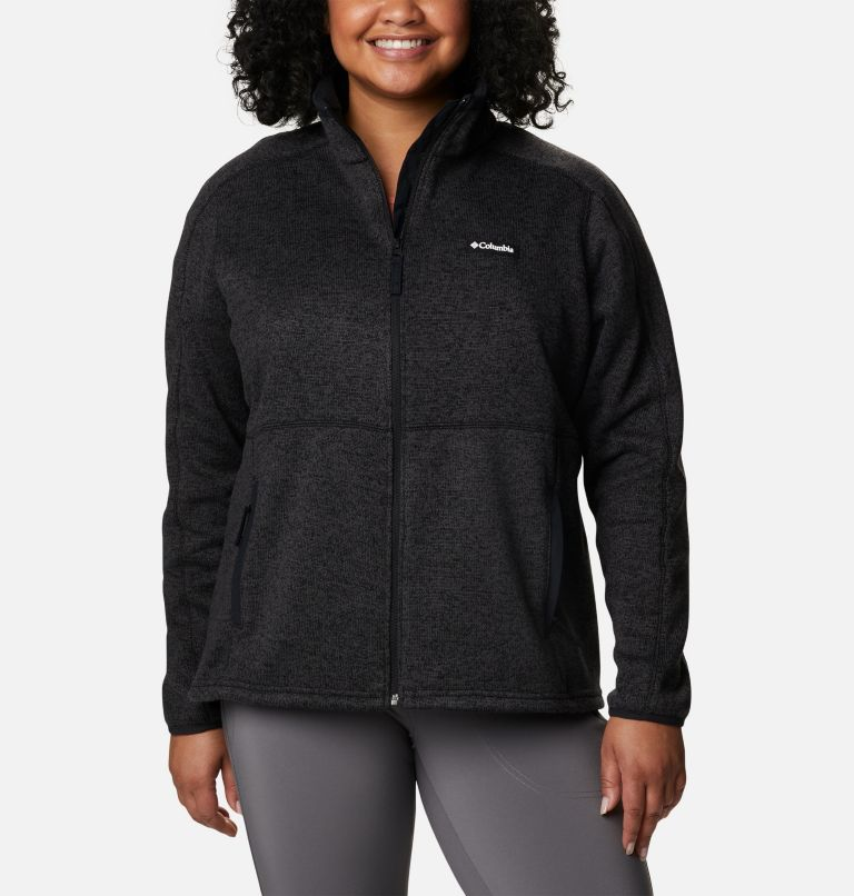 Women's Sweater Weather™ Full Zip - Plus Size Women's Sweater Weather™ Full Zip - Plus Size, front