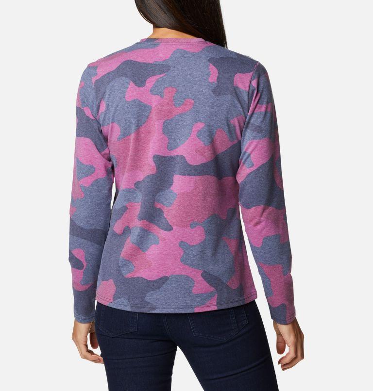 Women's Sun Trek™ Pattern Long Sleeve T-Shirt Women's Sun Trek™ Pattern Long Sleeve T-Shirt, back